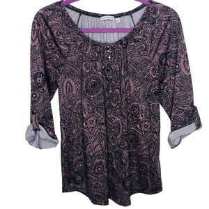 Notations Paisley Top